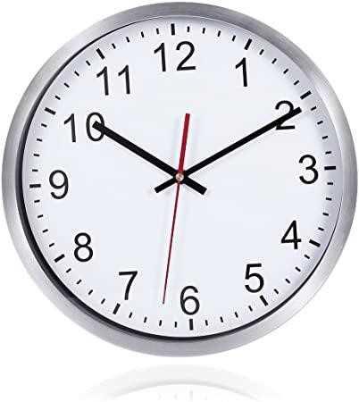 Reloj De Pared Silencioso