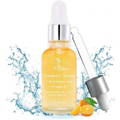 Vsadey Suero facial de vitamina C con ácido hialurónico puro + vitamina E