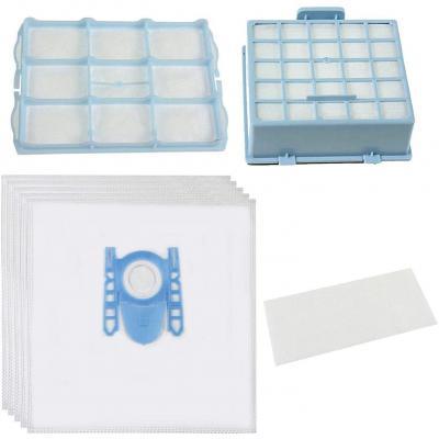 Spares2go Bolsas De Polvo Y Micro Kit De Filtro Hepa Para Bosch Bsg6 Gl-30