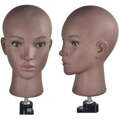 Training Head Cosmetology Mannequin Head Professional Bald Manikin Head