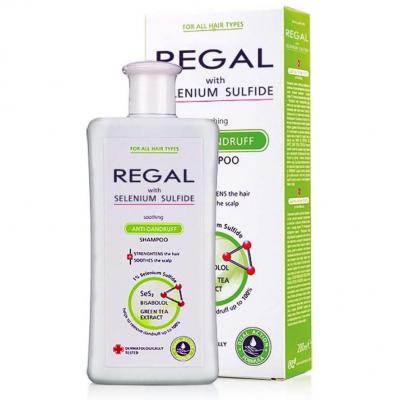 Regal Selenium Sulfide Champú anticaspa para el fortalecimiento del todo tipo de cabello