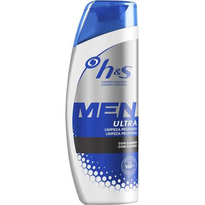 H and S Men Ultra Limpieza Profunda Champú Anticaspa 600 ml