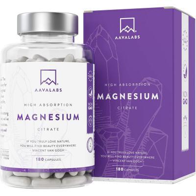 Suplemento De Citrato De Magnesio