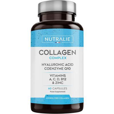 Colágeno + Ácido Hialurónico + Coenzima Q10 + Vitaminas A