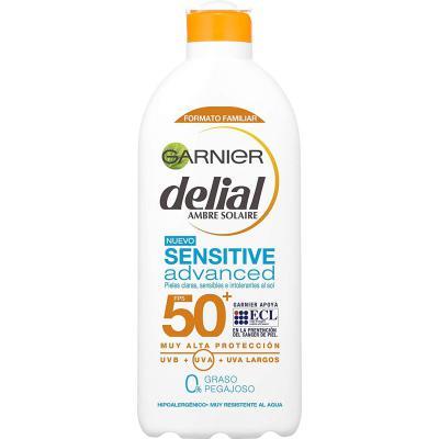 Garnier Delial Sensitive Advanced Leche Solar para Pieles Claras