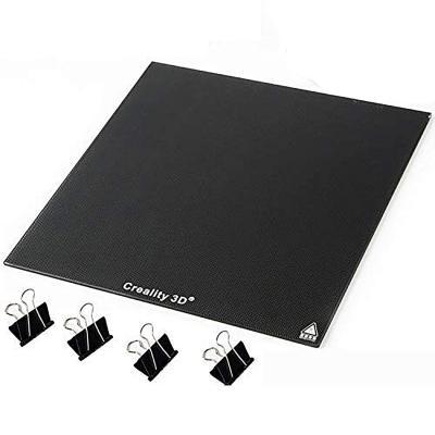 Creality Panel de placa de cristal para impresora 3D de 235 x 235 mm con superficie de vidrio para cama con impresión de vidrio para Ender-3 Ender-3 Pro Ender-3S Ender-3X