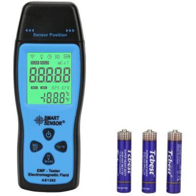 Medidor de Campos magneticos KKmeter EMF Meter Mini Digital LCD EMF Detector de radiación