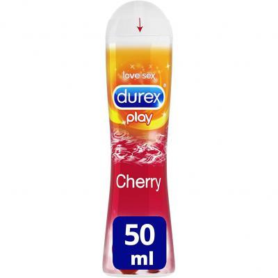 Durex Play Lubricante Base Agua Sabor Cereza 50 ml
