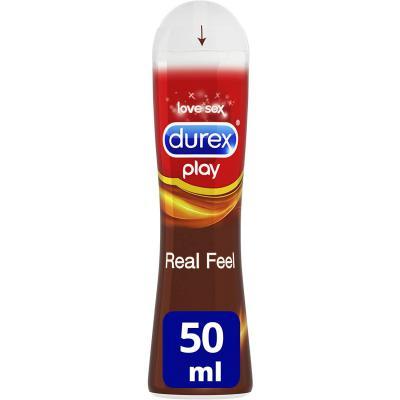 Durex Play Lubricante Real Feel de base silicona larga duración
