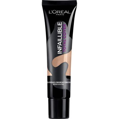 LOréal Paris Total Cover Base Maquillaje Cobertura Total