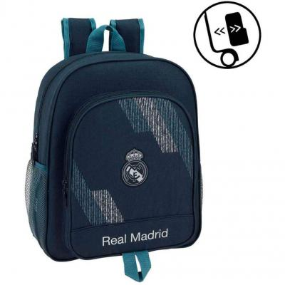 Safta Mochila Junior Adaptable A Carro Real Madrid