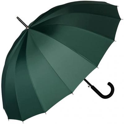 VON LILIENFELD Paraguas Mujer Hombres Automática Grande 16 segmentos Devon Verde Cazador
