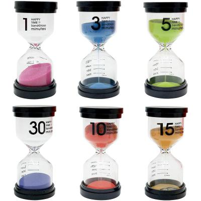 The Twiddlers Paquete De 6 Relojes De Arena