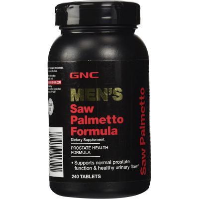 GNC Mens Saw Palmetto Formula