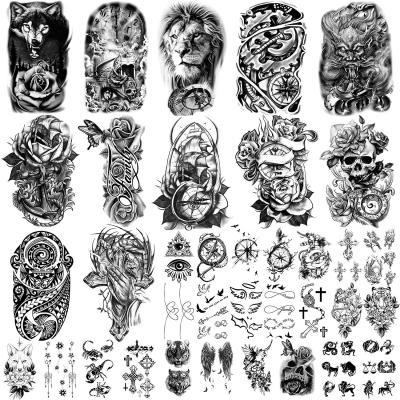 36 hojas de pegatinas de tatuajes temporales