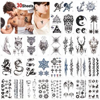 Konsait Tatuajes temporales para adultos Mujer hombre