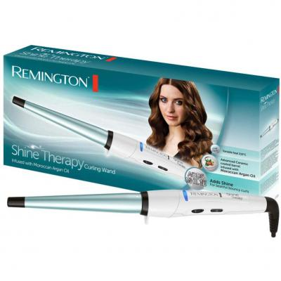 Remington Shine Therapy CI53W -Rizador de Pelo