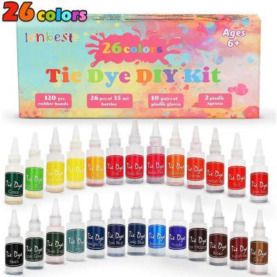 Lenbest 26 Colores Tie Dye DIY Kit