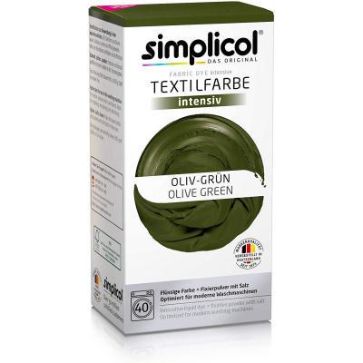 Simplicol Kit De Tinte Textile Dye Intensive Verde : Colorante Para Teñir Ropa