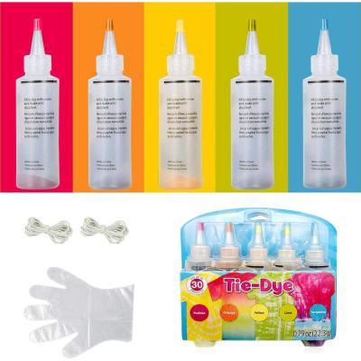 5 colores Tie Dye Kit