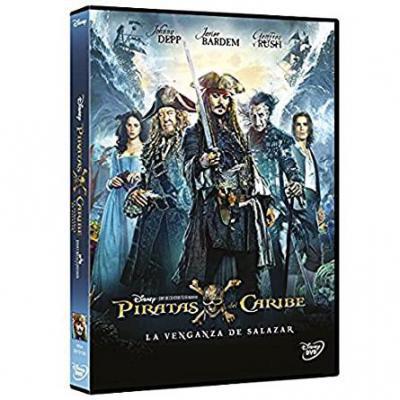 Piratas Del Caribe: La Venganza De Salazar Dvd