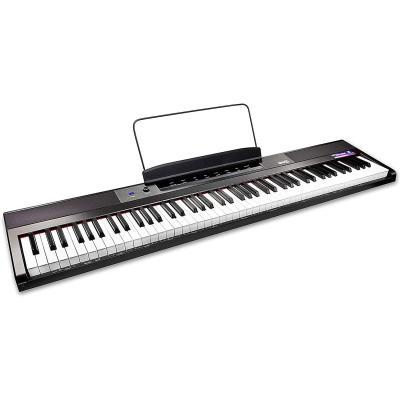 RockJam Teclado de piano digital para principiantes Piano con teclas semipesadas de tamaño completo